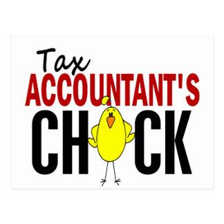 税の会計士のひよこ ポストカード