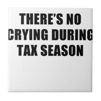 税の季節 タイル