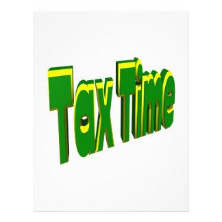 税の時間 チラシ