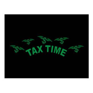 税の時間 ポストカード