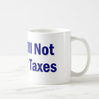 税の発言 コーヒーマグカップ