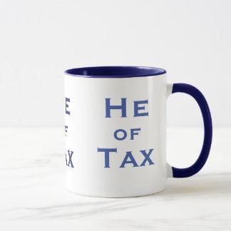 税オス税の会計士の人の税準備者の彼 マグカップ