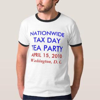 税日2010年4月15日 Tシャツ