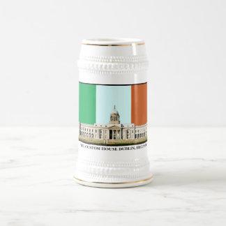 税関ダブリン、アイルランド-ステイン ビールジョッキ