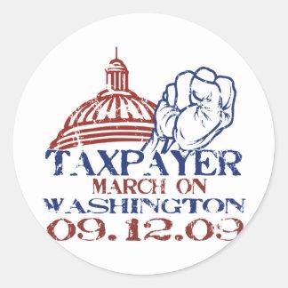 税3月 ラウンドシール
