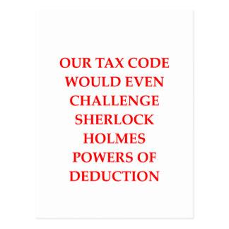 税 ポストカード
