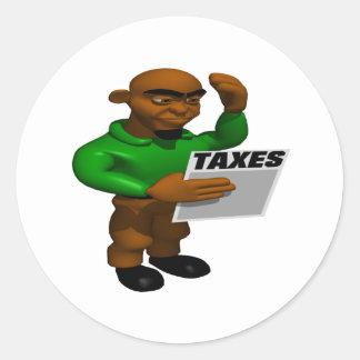 税 ラウンドシール
