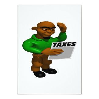 税 12.7 X 17.8 インビテーションカード