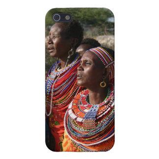 種はケニヤのMassaiからの宝石類に玉を付けます iPhone 5 ケース