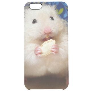 種を食べる柔らかいシリアのハムスターKokolinka クリア iPhone 6 Plusケース