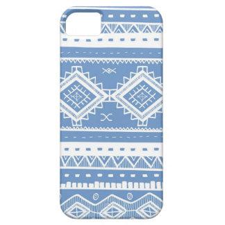 種族のアステカなレースパターン(タマキビの青) iPhone SE/5/5s ケース