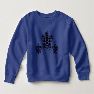 種族のウミガメ スウェットシャツ