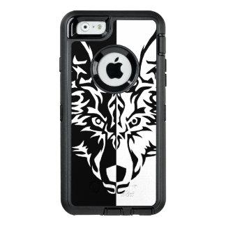 種族のオオカミのスタイル オッターボックスディフェンダーiPhoneケース