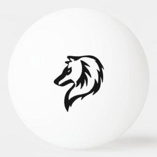 種族のオオカミのピンポン球 卓球ボール