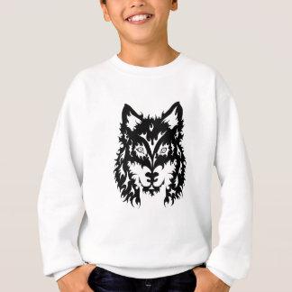 種族のオオカミ スウェットシャツ