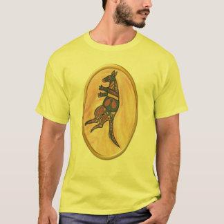 種族のカンガルー Tシャツ