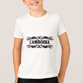 種族のカンボジア Tシャツ
