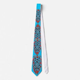 種族のケルト結び目模様の入れ墨 ネクタイ