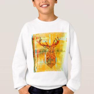 種族のシカ スウェットシャツ