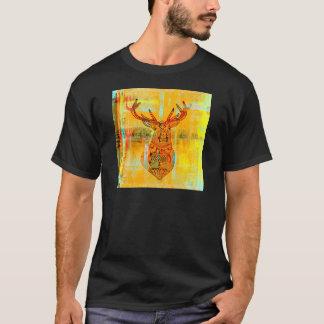 種族のシカ Tシャツ