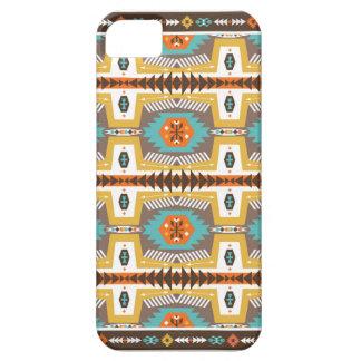 種族のスタイルのカラフルで装飾的なパターン iPhone SE/5/5s ケース