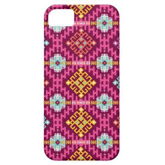 種族のスタイルのカラフルなパターン iPhone SE/5/5s ケース