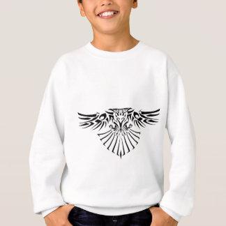 種族のタカの入れ墨のデザイン スウェットシャツ
