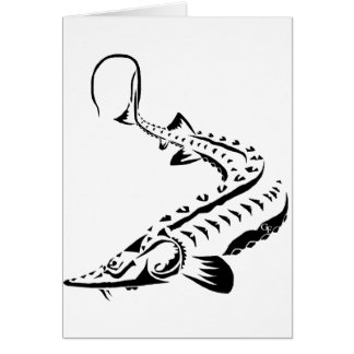 種族のチョウザメ- Shovelnose カード