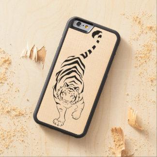 種族のトラ CarvedメープルiPhone 6バンパーケース