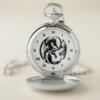 種族のドラゴンの壊中時計 ポケットウォッチ