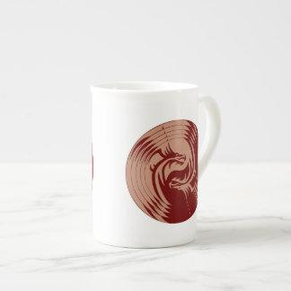 種族のドラゴンの陰陽(それを個人化して下さい!) l ボーンチャイナカップ