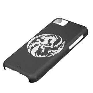 種族のドラゴンの(黒い) iPhone 5cケース iPhone5Cケース