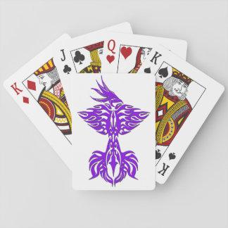 種族のフェニックス1つの紫色 トランプ