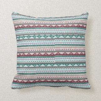 種族のプリントの枕 クッション