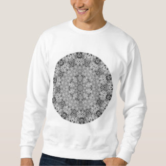 種族のボヘミアの目まぐるしく幾何学的な曼荼羅 スウェットシャツ