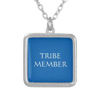 種族のメンバーのネックレス シルバープレートネックレス