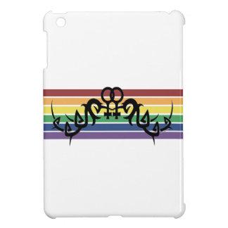 種族のレズビアンの虹の記号のiPad Miniケース iPad Mini カバー