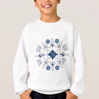 種族の仏教の記号 スウェットシャツ