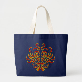 種族の偶像のバッグ ラージトートバッグ