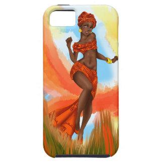 種族の光輝(アフリカのテーマ) iPhone SE/5/5s ケース