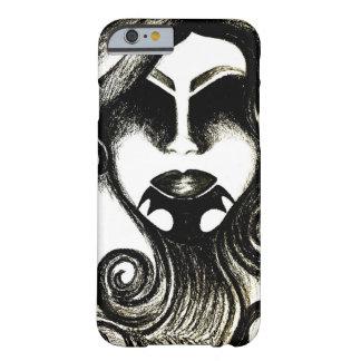 種族の入れ墨の女性の顔 BARELY THERE iPhone 6 ケース