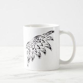 種族の入れ墨の翼 コーヒーマグカップ