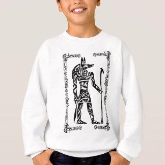 種族の入れ墨Anubis スウェットシャツ