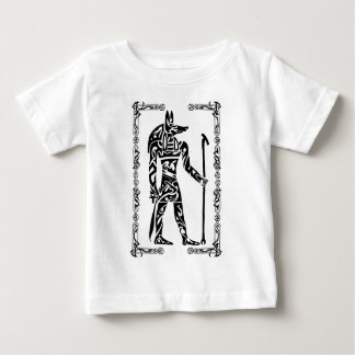 種族の入れ墨Anubis ベビーTシャツ