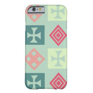 種族の十字のミントおよび珊瑚 BARELY THERE iPhone 6 ケース