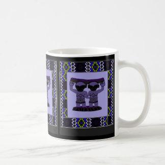 種族の彫像- Aftricanの芸術 コーヒーマグカップ