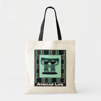 種族の彫像- Aftricanの芸術 トートバッグ
