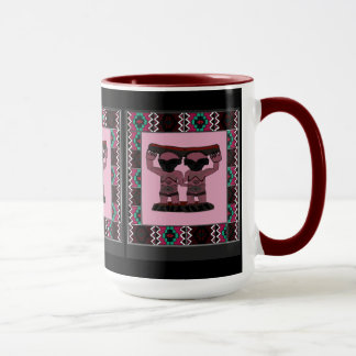 種族の彫像- Aftricanの芸術 マグカップ