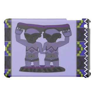 種族の彫像- Aftricanの芸術 iPad Miniケース