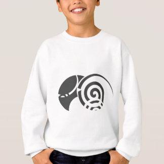 種族の抽象芸術 スウェットシャツ